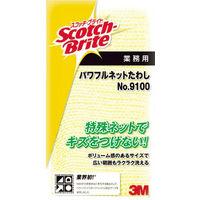 ジャパン(3M) スコッチブライト パワフルネットたわし NO.9100 イエロー 9100 1個 311-1270