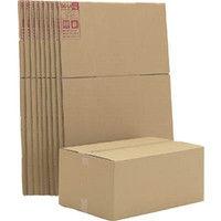 アイリスオーヤマ(IRIS OHYAMA) ダンボールボックス 660×440×296 10個セット DB-L4X10 321-6098 (直送品)