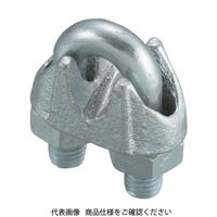 日興製綱 ニッコウ ワイヤークリップ (鋳鉄製) WCP6 1セット(2個:2個入×1袋) 117ー5858 (直送品)