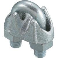 日興製綱 ワイヤークリップ (鋳鉄製) (2個入) WCP-9 1袋(2個) 117-5866 (直送品)
