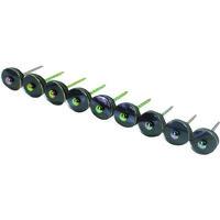 ダイドーハント ハント ポリカーボネイト連結傘釘14×38クリアー(270本入) 00019421  323ー4291 (直送品)