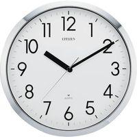 リズム時計(RHYTHM) CITIZEN(シチズン) プルーフ522(掛時計)クロームメッキ 294ー2615 4MG522050 1個 (直送品)