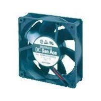 山洋電気 SanACE 標準ファン(80×25mm DC12V-リード線仕様) 109R0812H402 1台 353-2330 (直送品)