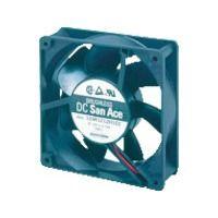 山洋電気 SanACE 標準ファン(120×38mm DC12Vーリード線仕様) 109R1212H102 1台 353ー2356 (直送品)
