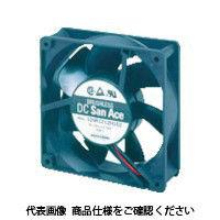 山洋電気 SanACE 標準ファン(120×25mm DC12Vーリード線仕様) 109P1212H402 1台 353ー2291 (直送品)