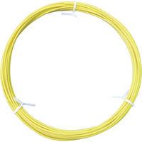 フジクラ・ダイヤケーブル フジクラ 機器配線用600V電線 エコタイプ 黄 EMKIE1.25SQY10M 1本 332ー7639 (直送品)