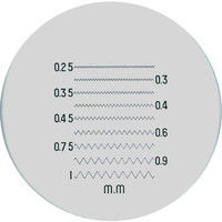 京葉光器 リーフ ガラススケール S210 1個 219ー6174 (直送品)