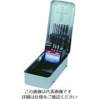 イシハシ精工 IS スパイラルタップ・ドリルセット SSD21 1セット(21本:21本入×1セット) 302ー2927 (直送品)