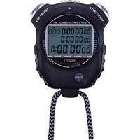 リズム時計工業 シチズン ストップウオッチ058 黒色 LC058A02 1個 293ー1338 (直送品)