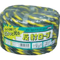 ユタカメイク(Yutaka) ロープ 反射標識万能パックロープ 12φ×20m ヒョウシキ YBH1220 1巻(20m) 384-5567 (直送品)