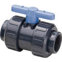 旭有機材工業 ウォーターBV PVC/EPDM ネジ込み15A VWBUENJ015 1個 375-3026 (直送品)