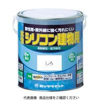 ロックペイント ロック 水性シリコン建物用 あか 1.6L H1111136S 1缶 384ー4382 (直送品)