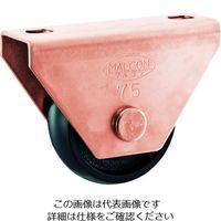 丸喜金属本社 マルコン枠付重量車 90mm U型 C-2600-90 1個 375-5991 (直送品)