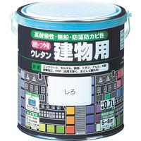 ロックペイント ロック 油性ウレタン建物用 しろ 1.6L H0602036S 1缶 384ー4315 (直送品)