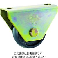 丸喜金属本社 MK マルコン枠付重量車 105mm U型 C2600105 1個 375ー5932 (直送品)
