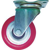 石川製作所(IKキャリー) アイケー スチールホイル自在ゴム車cent85 T-3 1個 385-5431 (直送品)