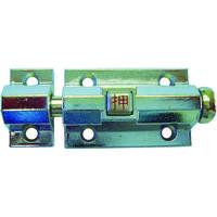 清水 自動ラッチ40mmクローム 1000M-40 1個 380-1560 (直送品)