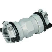 川西水道機器 SKカワニシ ポリエチレン管用継手 SKXソケットP50 SKXSP50 1個 380ー0580 (直送品)
