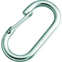 水本機械製作所 水本 ステンレス O型フック(ロープ用) 線径5mm長さ41mm B2055 1個 378ー9306 (直送品)