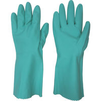 東和コーポレーション(TOWA) ビニスター 塩化ビニール手袋 トワローブフルールあつ手 グリーン L 712-L 1双 377-4023(直送品)