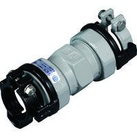 川西水道機器 SKカワニシ ポリエチレン管×鋼管用異種管継手 SKXソケットP40×40 SKXSP40X40 1個 380ー0563 (直送品)