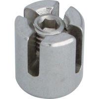 水本機械製作所 水本 ステンレス ダブルクリップ 適合ワイヤー径3mm B2143 1個 378ー9519 (直送品)