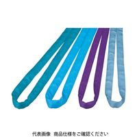 田村総業 田村 ラウンドスリング SSタイプHNーW016×1.5m 青色 HNW0160150 1本 390ー3028 (直送品)