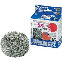 日本メタルワークス 抗菌ステンレスたわし40g K02600000180 1個 392-9469 (直送品)