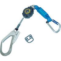 1本吊り(巻き取り式) 軽量 ツヨロン フルハーネス安全帯用ランヤード TR9321KSLY170BP 377-8401 Fujii(藤井電工) (直送品)