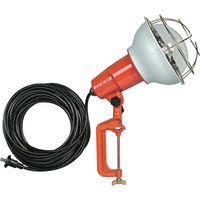 畑屋製作所 防雨型作業灯 リフレクターランプ500W 100V電線10m バイス付 RE-510 1台 106-2310 (直送品)