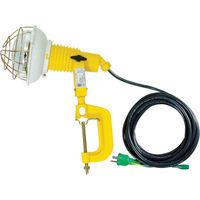 日動工業 投光器200Wアース付10M AT-E210 1台 368-5829 (直送品)