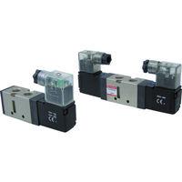 妙徳 5ポート電磁弁 24V リード線コネクタ CSV110-4PS 1個 354-4290 (直送品)