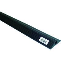 大研化成工業 ケーブルプロテクタ10x1M ブラック CP-10X1M BK 1本 363-6151 (直送品)