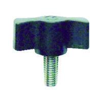 三星産業貿易 三星 キャンディノブボルト M4×15 黒(5個入り) C1M4X15BK5P 1セット(1袋:5個入×1) 363ー2245 (直送品)