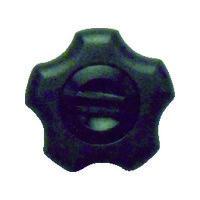 三星産業貿易 三星 フィットノブ M6 本体/黒 キャップ/黒(5個入り) FITKM6BK5P 1セット(1袋:5個入×1) 363ー2962 (直送品)