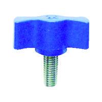 三星産業貿易 三星 キャンディノブボルト M4×15 青(5個入り) C1M4X15B5P 1セット(1袋:5個入×1) 363ー2237 (直送品)