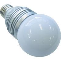浜井電球工業 ROYAL LEDランプ(4Wボール防滴白色) H-3E26B-ZW-E 1個 384-4285 (直送品)