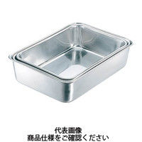 日本メタルワークス IKD 抗菌深型組バット4号 K02700000530 1枚 392ー8586 (直送品)