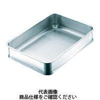 日本メタルワークス IKD 抗菌スタッキング角バット10枚取 K02700000360 1枚 392ー8438 (直送品)