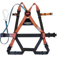 1本吊り 高所作業用 ツヨロン フルハーネス安全帯 ランヤード付 パープル R502GOT2PBX 1本 388-2381 Fujii(藤井電工) (直送品)