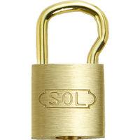 清水 SOL シリンダー錠ツル長25mm(パック) 2500BP25L 1個 380ー1624 (直送品)