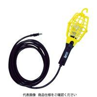 ハタヤリミテッド ハタヤ 補助コードランプ 60W耐震電球付 電線5m ランプガード赤 ILI5R 1台 370ー3495 (直送品)