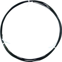 日星電気 フッソ樹脂絶縁電線 FN-2 黒 10m 600V-FEP-0.5SQ-BK-10M 1本 332-5822 (直送品)