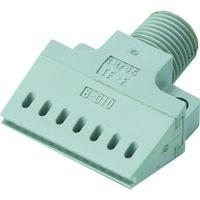 いけうち いけうち コンパクトフラット型エアーノズル PPS樹脂製 1/8オス Φ1.0 18MTFF248010PPSIN  364ー0710 (直送品)