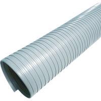 カナフレックスコーポレーション(Kanaflex) 硬質ダクトN.S.型 100径 10m DC-NS-H-100-10 1本 380-1187 (直送品)