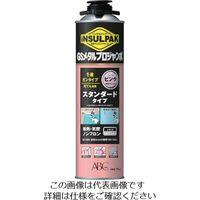 ABC 簡易型発泡ウレタンフォーム 1液ガンタイプ インサルパック GSメタルプロジャンボ 750ml フォーム色:ピンク 382-3253(直送品)