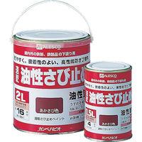 カンペハピオ ALESCO カンペ 速乾さび止め 0.5Lグレー NO10800505 1缶 385ー8618 (直送品)