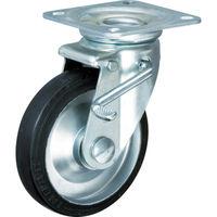 イノアック車輪 イノアック 中荷重用キャスター ストッパー・旋回金具付 Φ100 G100WJS 1個 384ー6946 (直送品)