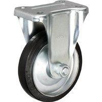 イノアック車輪 イノアック 中荷重用キャスター 固定金具付 Φ250 G250WK 1個 384ー7110 (直送品)