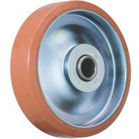 イノアック車輪 イノアック 中荷重用キャスター ログラン(ウレタン)車輪のみ Φ150 P150W 1個 384ー7284 (直送品)